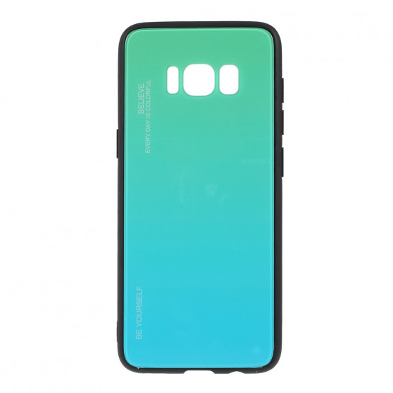 GLASS BE YOURSELF TWILIGHT MINT OVITEK ZA SAMSUNG GALAXY S8