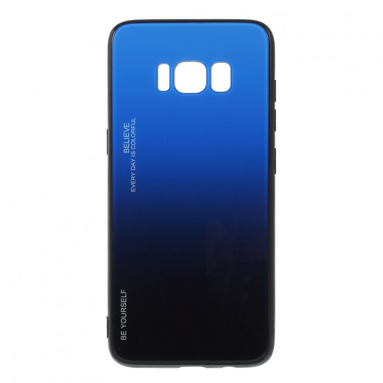 GLASS BE YOURSELF TWILIGHT BLACK/BLUE OVITEK ZA SAMSUNG GALAXY S8