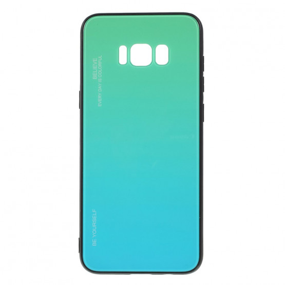 GLASS BE YOURSELF TWILIGHT MINT OVITEK ZA SAMSUNG GALAXY S8 PLUS