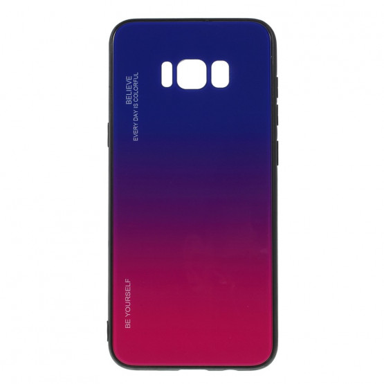 GLASS BE YOURSELF TWILIGHT BLUE/PURPLE OVITEK ZA SAMSUNG GALAXY S8 PLUS