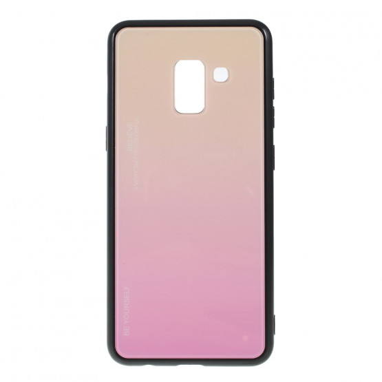 GLASS BE YOURSELF TWILIGHT GOLD OVITEK ZA SAMSUNG GALAXY A8 (2018)