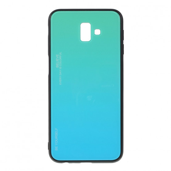 GLASS BE YOURSELF TWILIGHT MINT OVITEK ZA SAMSUNG GALAXY J6 PLUS (2018)