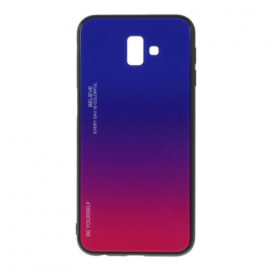 GLASS BE YOURSELF TWILIGHT BLUE/PURPLE OVITEK ZA SAMSUNG GALAXY J6 PLUS (2018)