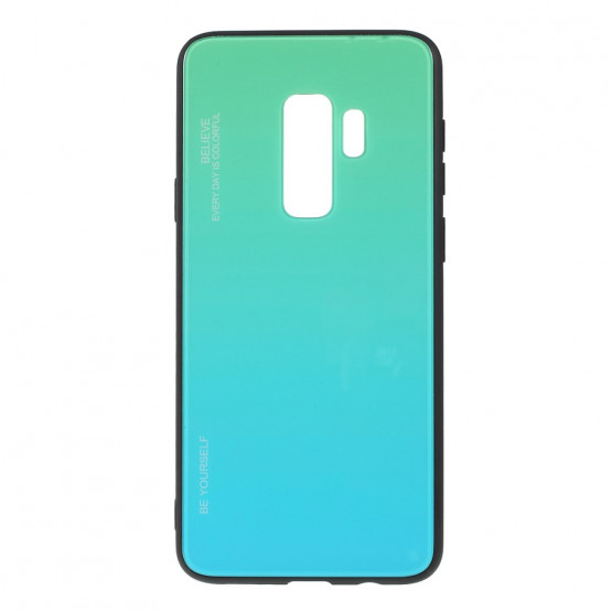 GLASS BE YOURSELF TWILIGHT MINT OVITEK ZA SAMSUNG GALAXY S9 PLUS