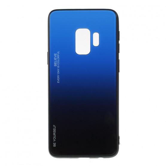 GLASS BE YOURSELF TWILIGHT BLACK/BLUE OVITEK ZA SAMSUNG GALAXY S9