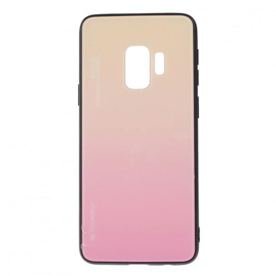 GLASS BE YOURSELF TWILIGHT GOLD OVITEK ZA SAMSUNG GALAXY S9