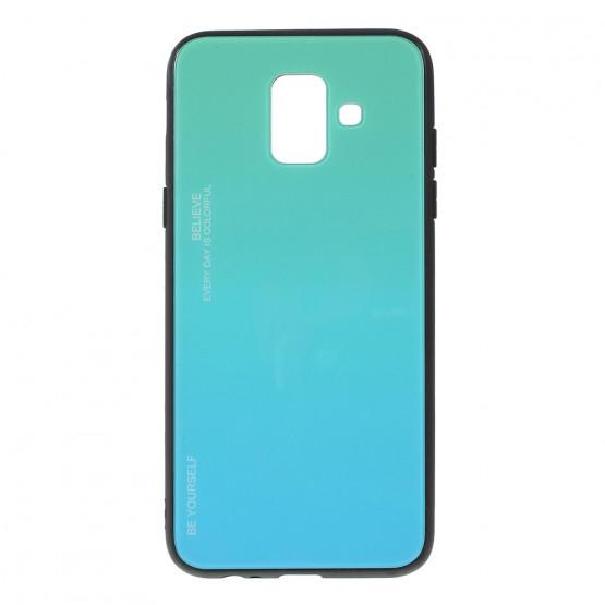 GLASS BE YOURSELF TWILIGHT MINT OVITEK ZA SAMSUNG GALAXY A6 (2018)
