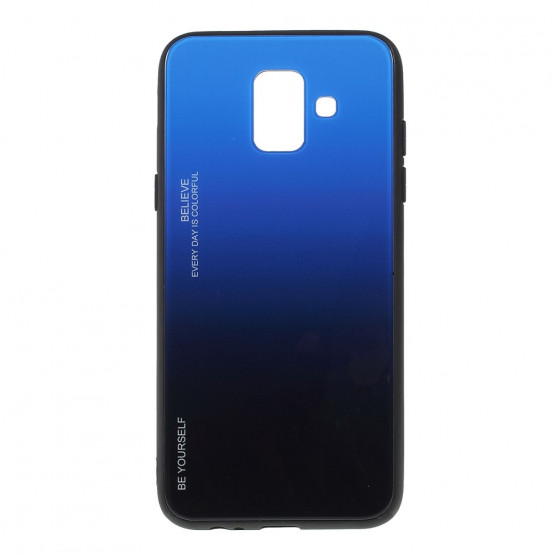 GLASS BE YOURSELF TWILIGHT BLACK/BLUE OVITEK ZA SAMSUNG GALAXY A6 (2018)