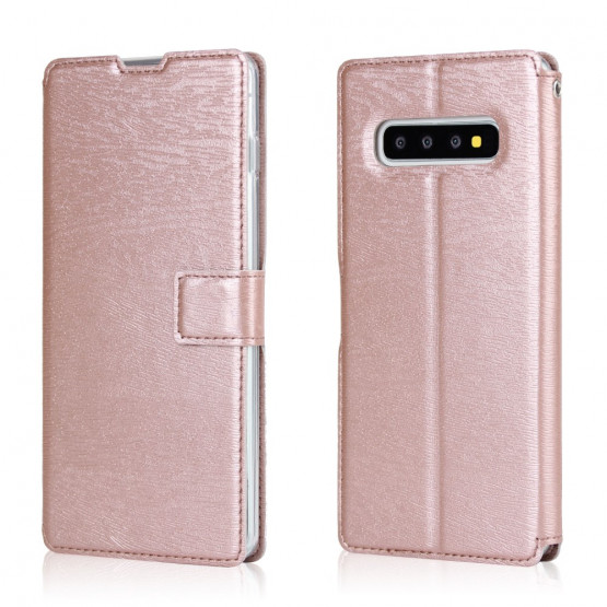 SLIM LESENI ODTIS ROSE GOLD ETUI ZA SAMSUNG GALAXY S10 PLUS