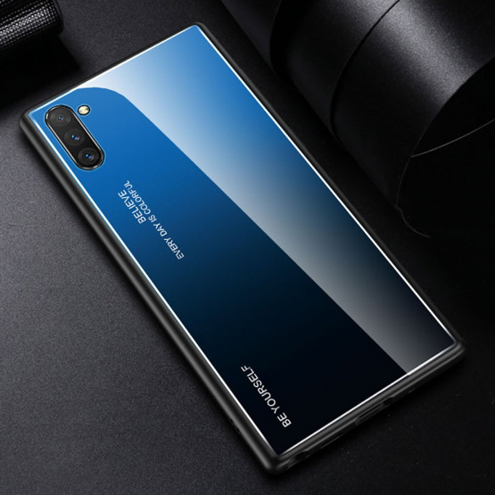 GLASS BE YOURSELF TWILIGHT BLACK/BLUE OVITEK ZA SAMSUNG GALAXY NOTE 10 PLUS
