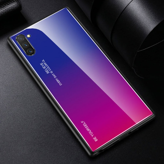 GLASS BE YOURSELF TWILIGHT BLUE/PURPLE OVITEK ZA SAMSUNG GALAXY NOTE 10 PLUS