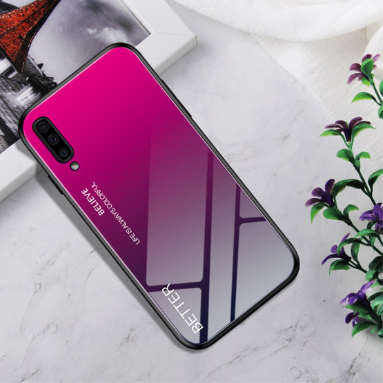 GLASS ROSE RED OVITEK ZA SAMSUNG GALAXY A70