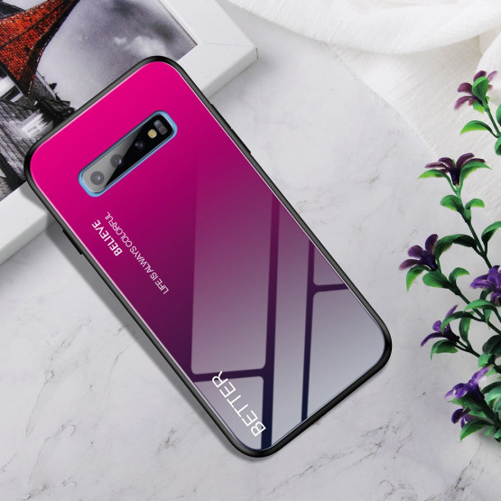 GLASS ROSE RED OVITEK ZA SAMSUNG GALAXY S10 PLUS