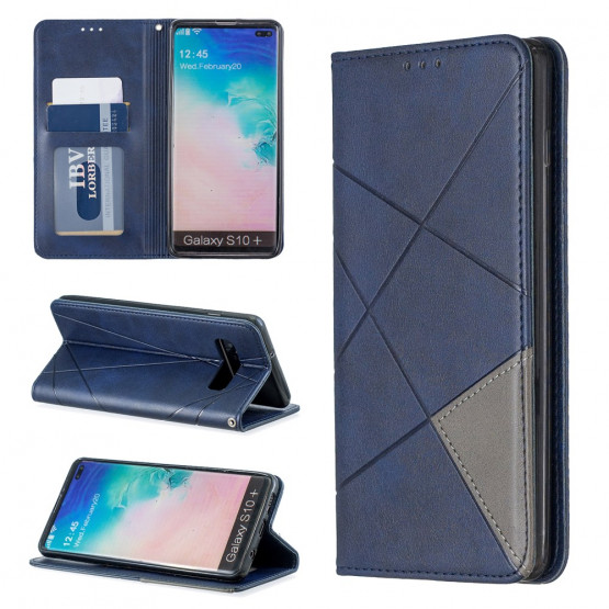 AUTO-ABSORBED GEOMETRIC MODER ETUI ZA SAMSUNG GALAXY S10 PLUS
