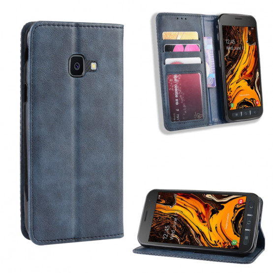 VINTAGE AUTO ABSORBED MODER ETUI ZA SAMSUNG GALAXY XCOVER 4 / GALAXY XCOVER 4S