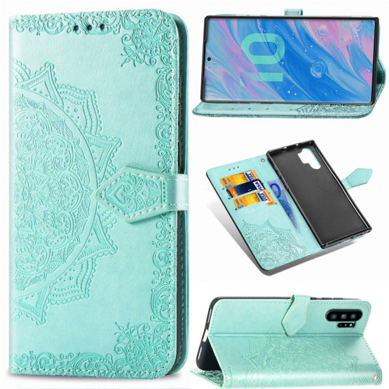 ROYAL MANDALA MINT ETUI ZA SAMSUNG GALAXY NOTE 10 PLUS