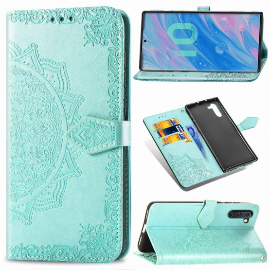 ROYAL MANDALA MINT ETUI ZA SAMSUNG GALAXY NOTE 10