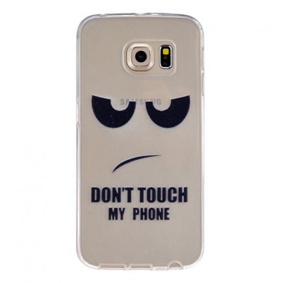 SLIM DON'T TOUCH MY PHONE - SAMSUNG GALAXY S6 EDGE
