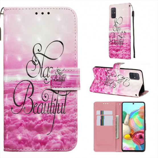 REALISTIC STAY BEAUTIFUL ETUI ZA SAMSUNG GALAXY A71