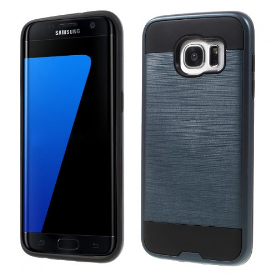 BRUSHED CARD TEMNO MODER - SAMSUNG GALAXY S7 EDGE