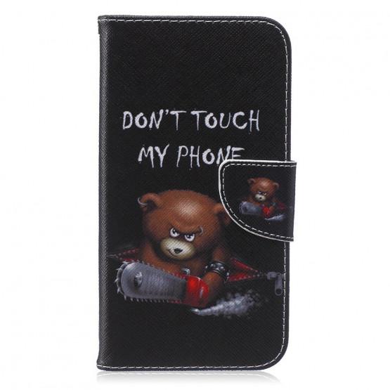 DON'T TOUCH MY PHONE BEAR - SAMSUNG GALAXY J7