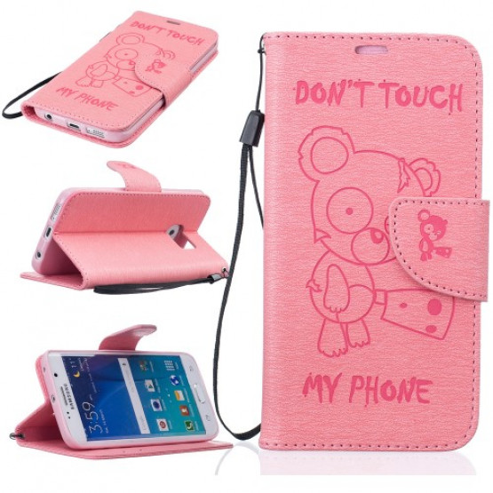 BEARS DON'T TOUCH MY PHONE ROZA - SAMSUNG GALAXY S7