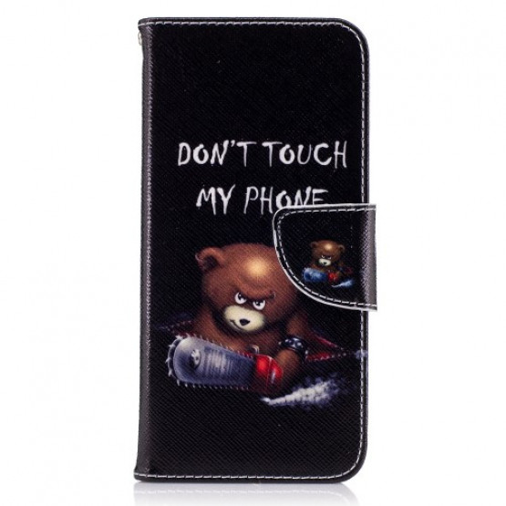 DON'T TOUCH MY PHONE ANGRY BEAR - SAMSUNG GALAXY S8