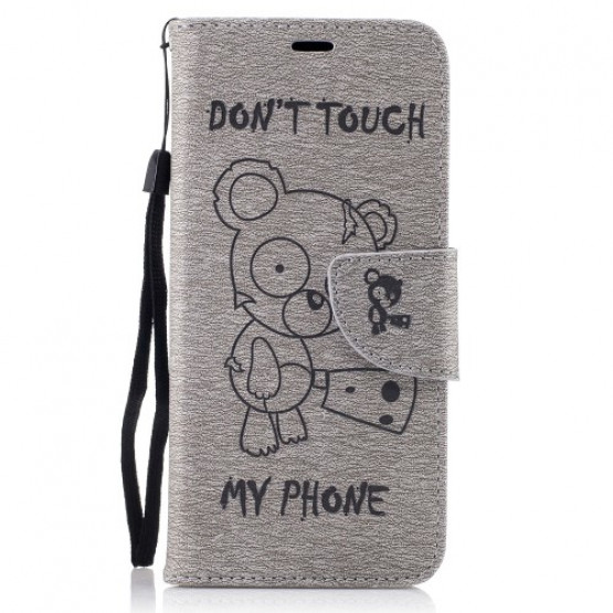 BEARS DON'T TOUCH MY PHONE SIV - SAMSUNG GALAXY S8