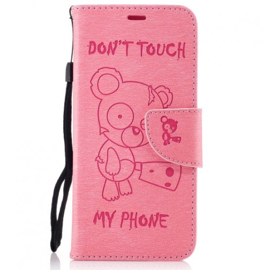 BEARS DON'T TOUCH MY PHONE ROZA - SAMSUNG GALAXY S8