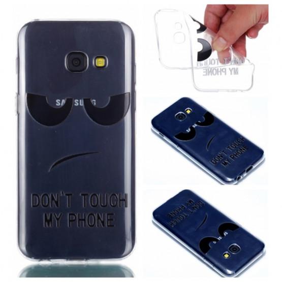 SLIM PROSOJEN DON'T TOUCH MY PHONE - SAMSUNG GALAXY A3 (2017)