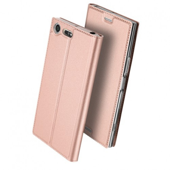DUX SLIM & MAGNETIC ROSE GOLD - SONY XPERIA XZ PREMIUM