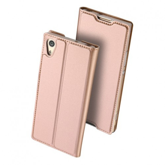 DUX SLIM & MAGNETIC ROSE GOLD  - SONY XPERIA XA1