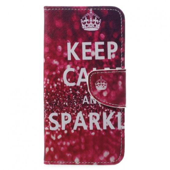 KEEP CALM AND SPARKLE - LG Q6