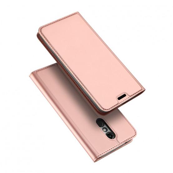 DUX SLIM & MAGNETIC ROSE GOLD - LG K11 / K10 (2018)