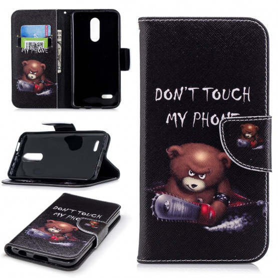 DON'T TOUCH MY PHONE ANGRY BEAR - LG  K11 / K10 (2018)