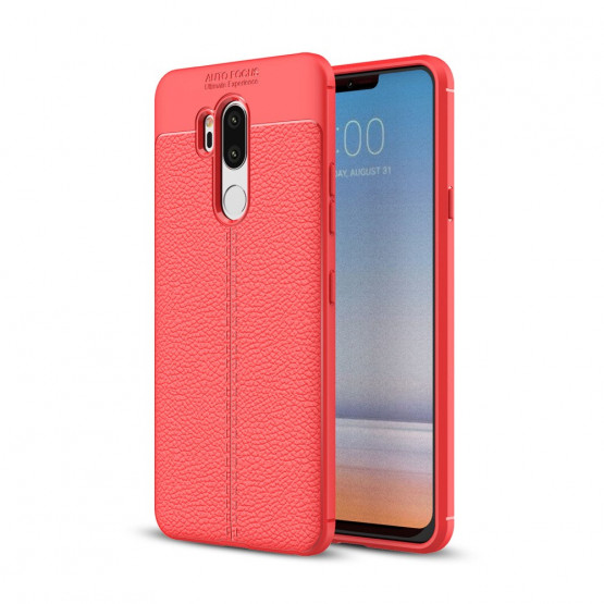 FLEX LEATHER RDEČ - LG G7 / G7 THINQ