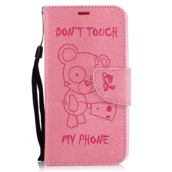 BEARS DON'T TOUCH MY PHONE ROZA - LG K10 (2017)