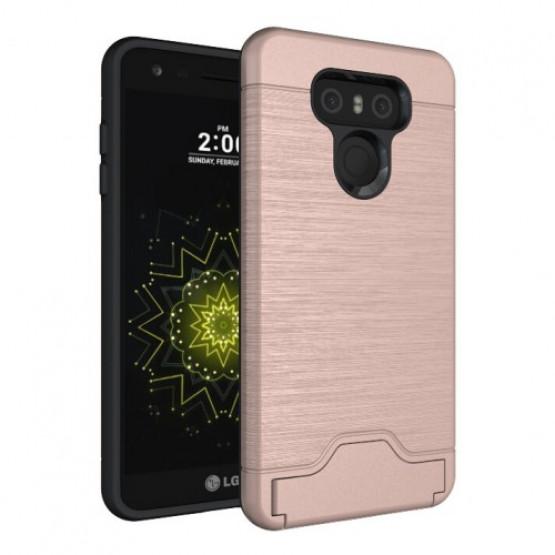 BRUSHED CARD ROSE GOLD - LG G6