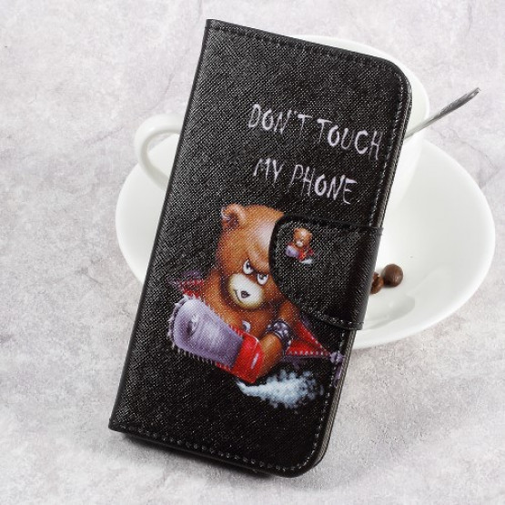 DON'T TOUCH MY PHONE BEAR- LG K8 (2017)