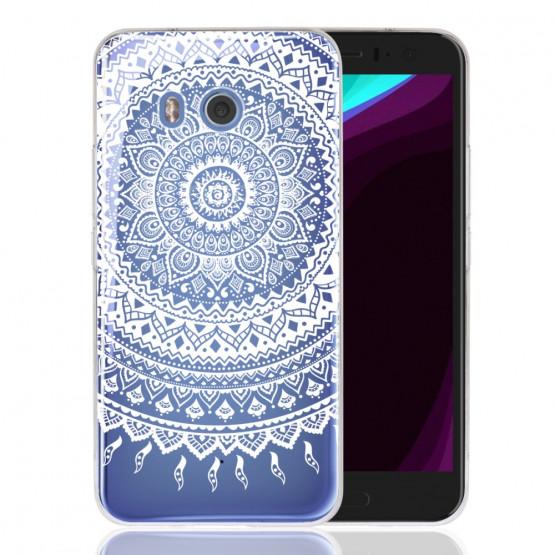 SLIM PROSOJNA BELA MANDALA - HTC U11