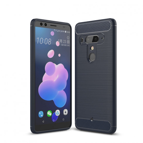 FLEX KARBON TEMNO MODER - HTC U12 PLUS