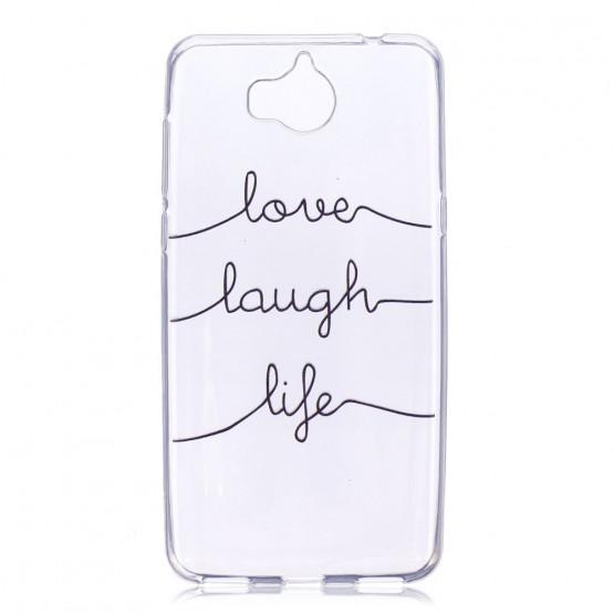 SLIM LOVE LAUGH LIFE - HUAWEI Y6 (2017) / Y5 (2017)