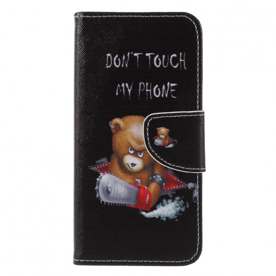 DON'T TOUCH MY PHONE BEAR - HUAWEI HONOR 9 LITE