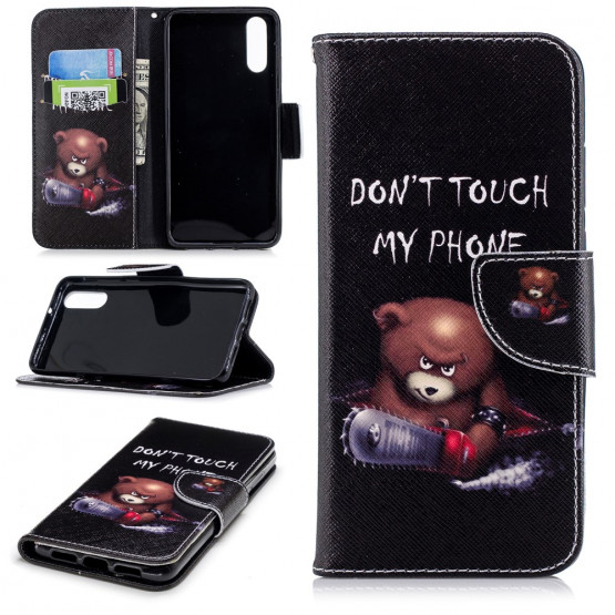 DON'T TOUCH MY PHONE BEAR - HUAWEI P20