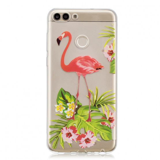 SLIM PROSOJEN FLAMINGO - HUAWEI P SMART / ENJOY 7S
