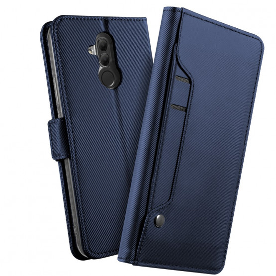MIRROR AUTO-ABSORBED MAGNETIC BLUE - HUAWEI MATE 20 LITE