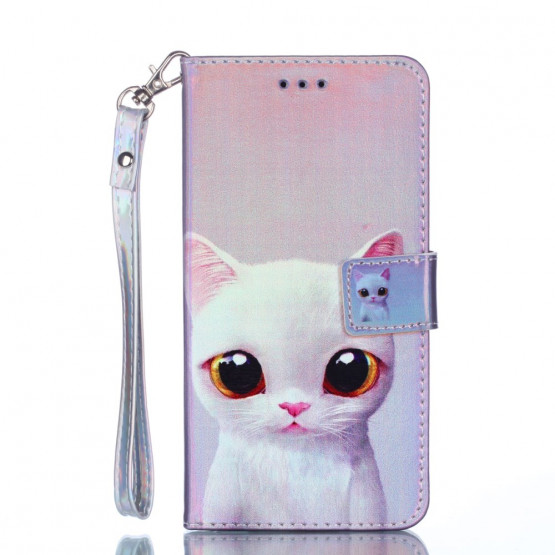 LASER CUTE CAT - HUAWEI P SMART / ENJOY 7S
