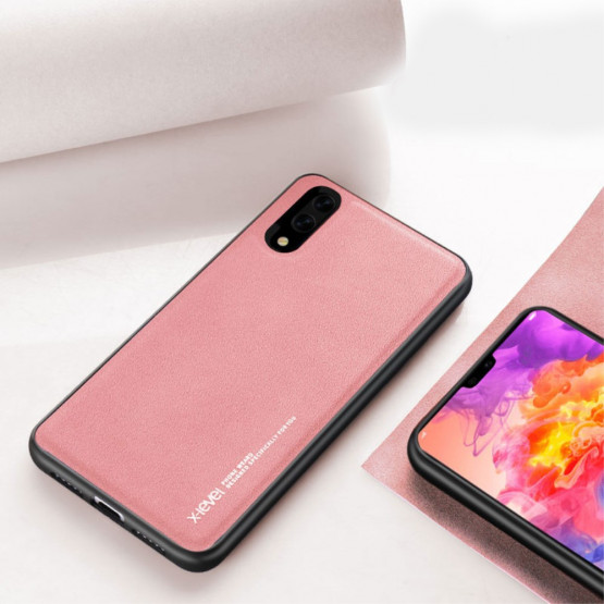 X-LEVEL LEATHER PINK - HUAWEI P20