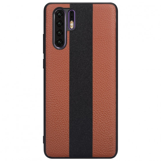 SULADA LEATHER BROWN OVITEK ZA HUAWEI P30 PRO