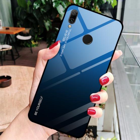 GLASS BE YOURSELF TWILIGHT BLACK/ BLUE OVITEK ZA HUAWEI Y7 PRIME (2019) / Y7 (2019)